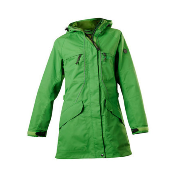 Owney Owney dames outdoor parka Tuvaq appel groen
