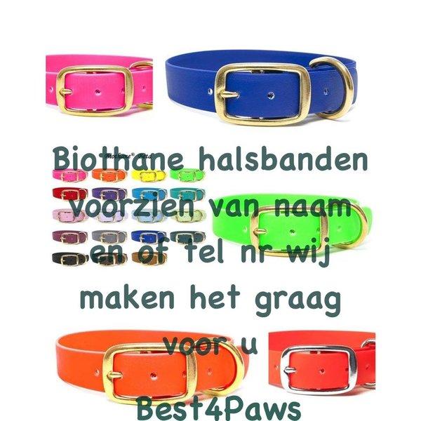 Biothane puppy halsband Deluxe 16mm