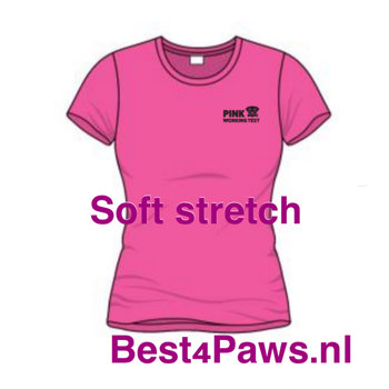 PWT dames soft stretch shirt