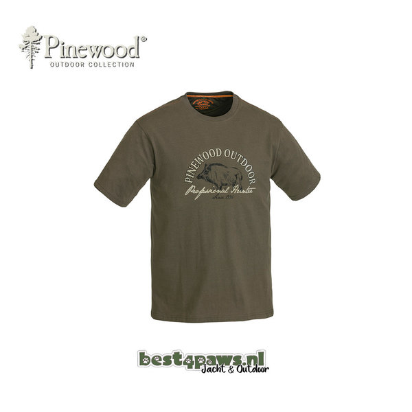 Pinewood Pinewood T-shirt Wild Boar