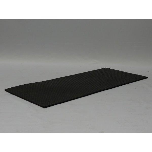 H Pro anti slip mat voor Auto bench aluminium model 1/2/3/4