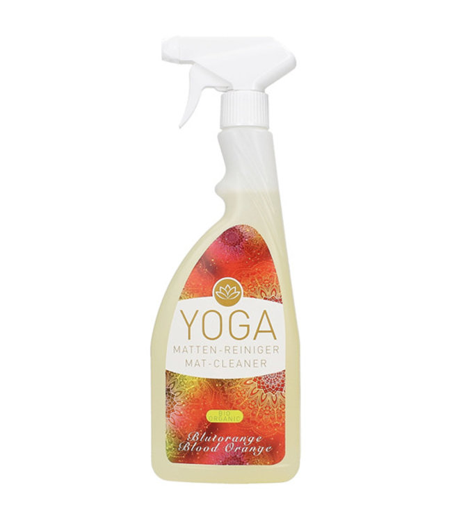 Yogamat cleaner bloedsinaasappel