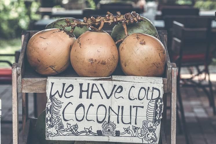 Genieten van kokos