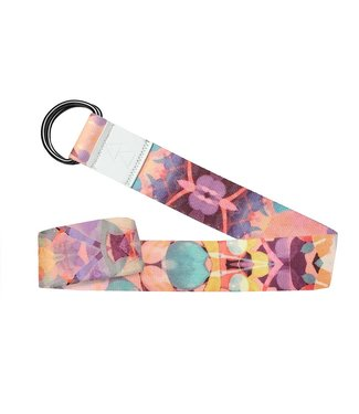Yoga Design Lab Yoga riem kaleidoscope - Yoga Design Lab