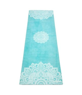 Yoga Design Lab Combo yogamat studio mandala turquoise - Yoga Design Lab