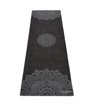 Yoga Design Lab Yoga handdoek mandala black - Yoga Design Lab