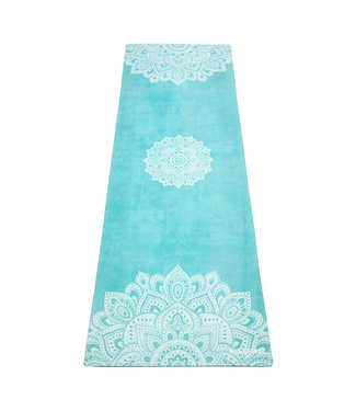 Yoga Design Lab Combo yogamat commuter mandala turquoise - Yoga Design Lab