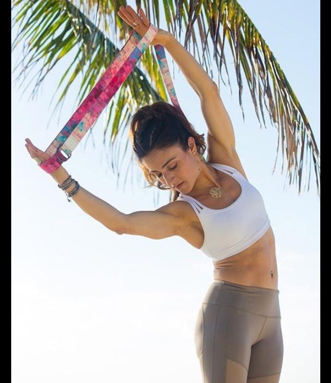 Yoga Design Lab Yoga riem tribeca sand - Yoga Design Lab