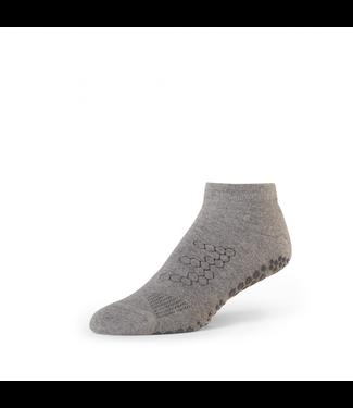 Toesox Yoga sokken mannen - grijs