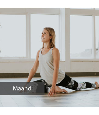 Happy with Yoga Voucher maandabonnement practice platform