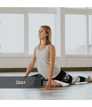 Happy with Yoga Voucher jaarabonnement practice platform