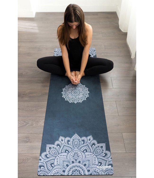 Yoga Design Lab Combo yogamat commuter mandala sapphire - Yoga Design Lab