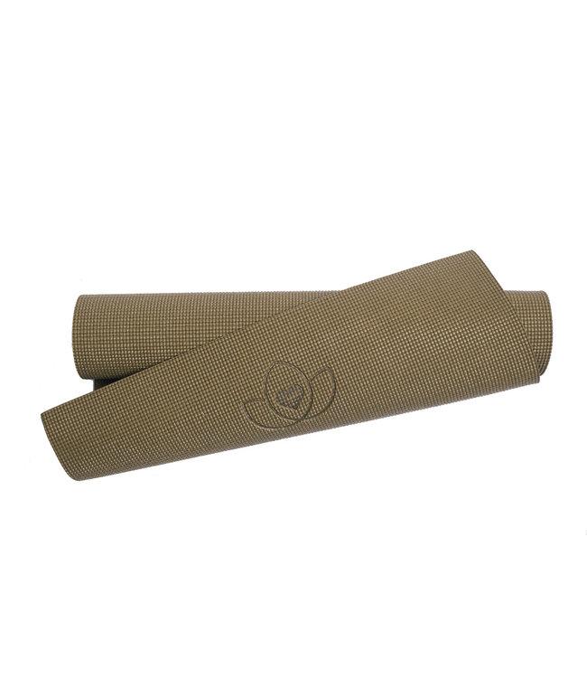 Lotus Eco yogamat sticky extra dik donkergroen - Lotus