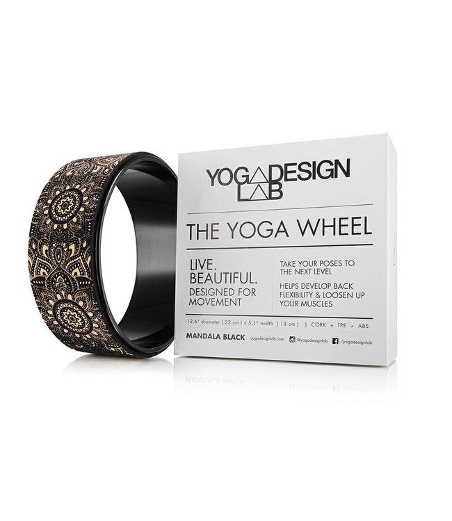 Yoga Design Lab Yoga wiel mandala kurk - Yoga Design Lab
