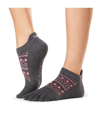 Toesox Yoga sokken extra grip sundown