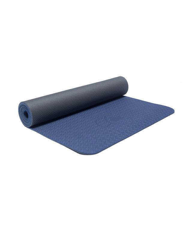 Lotus Yogamat eco grip TPE extra dik indigo - Lotus