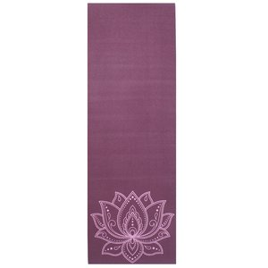 Lotus Yogamat sticky extra dik lotus donkerpaars - Lotus