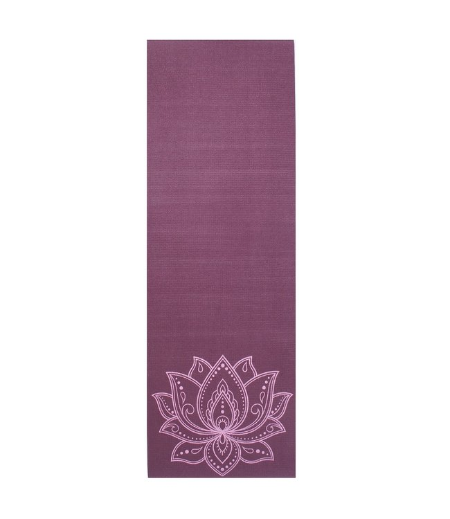 Lotus Eco yogamat sticky extra dik lotus donkerpaars - Lotus