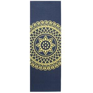 Lotus Yogamat sticky extra dik mandala indigo – Lotus