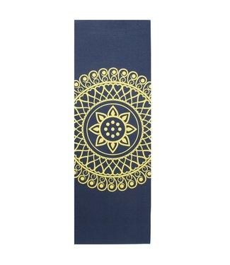 Lotus Eco yogamat sticky extra dik mandala indigo – Lotus