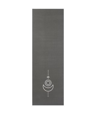 Lotus Yogamat sticky extra dik balance antraciet  - Lotus