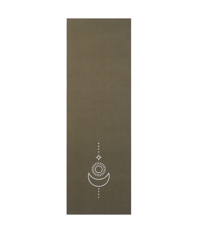 Lotus Yogamat sticky extra dik balance donkergroen  - Lotus