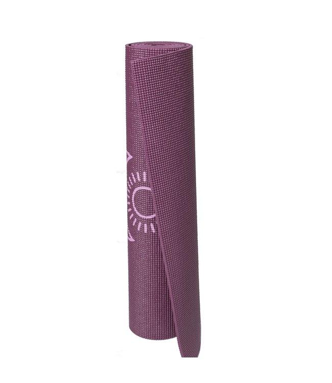 Lotus Yogamat sticky extra dik balance donkerpaars  - Lotus