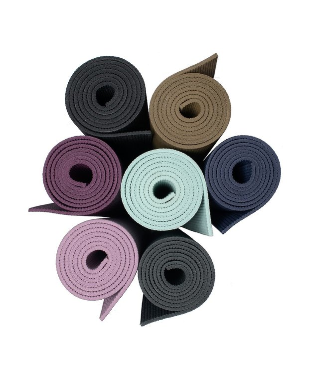 Lotus Yogamat sticky extra dik antraciet - Lotus