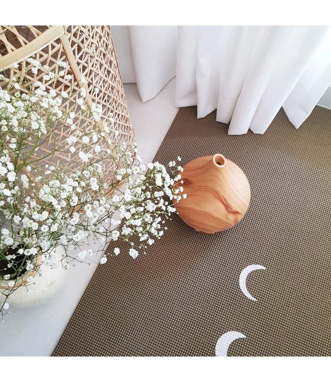 Lotus Eco yogamat sticky extra dik moon donkergroen - Lotus