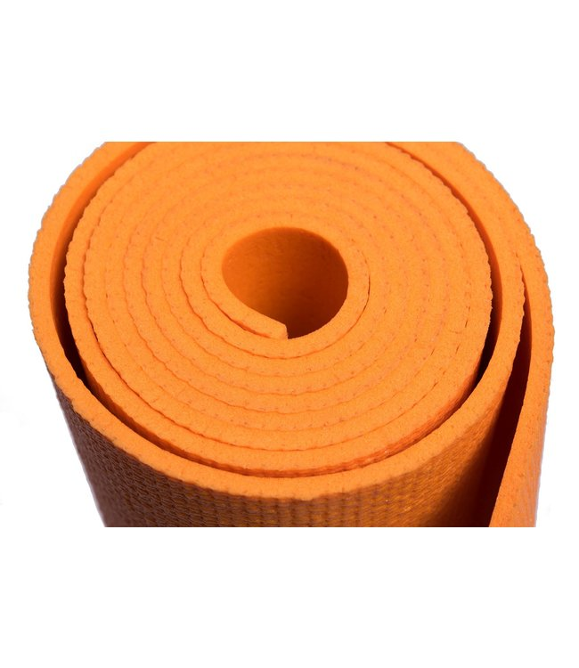 Lotus Yogamat studio oranje - Lotus
