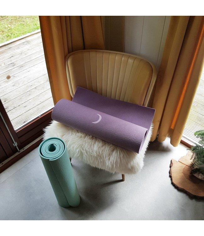 Lotus Eco yogamat sticky extra dik moon lavendelpaars - Lotus