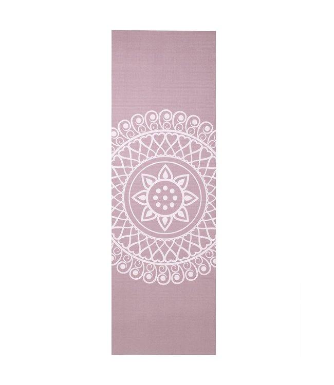 Lotus Yogamat sticky extra dik mandala lavendelpaars - Lotus