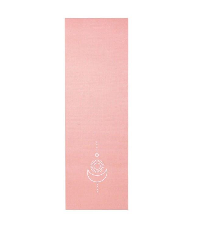 Lotus Yogamat sticky extra dik balance koraalroze - Lotus