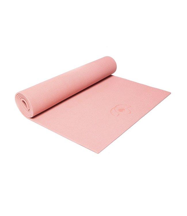 Lotus Eco yogamat sticky extra dik koraalroze - Lotus