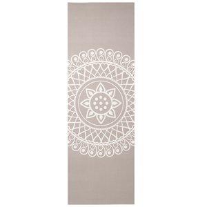 Lotus Eco yogamat sticky extra dik mandala taupe - Lotus