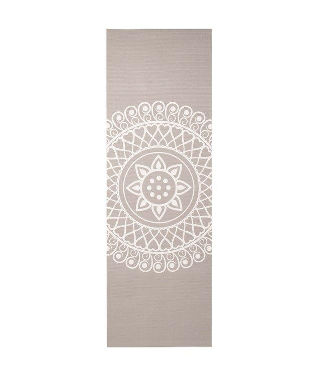 Lotus Yogamat sticky extra dik mandala taupe - Lotus