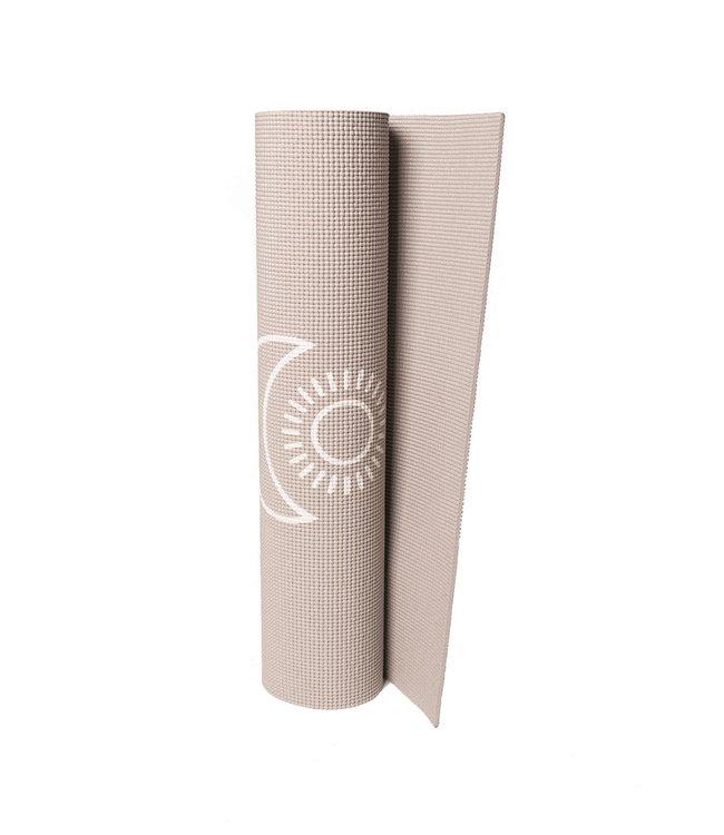 Lotus Eco yogamat sticky extra dik balance taupe - Lotus