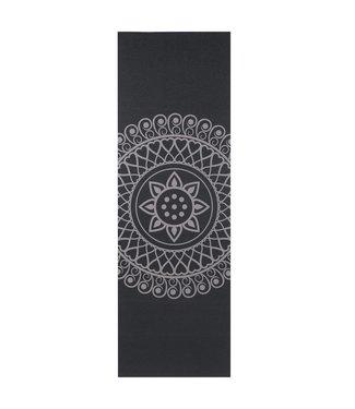 Lotus Eco yogamat sticky extra dik mandala zwart - Lotus