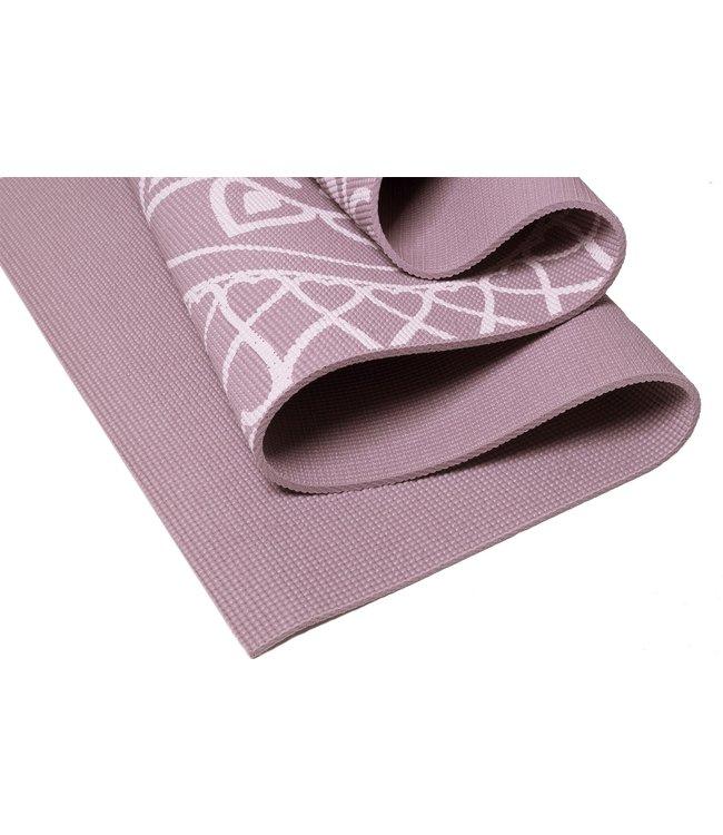 Lotus Eco yogamat sticky extra dik mandala lavendelpaars - Lotus