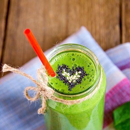 Dadel-avocado kokos smoothie