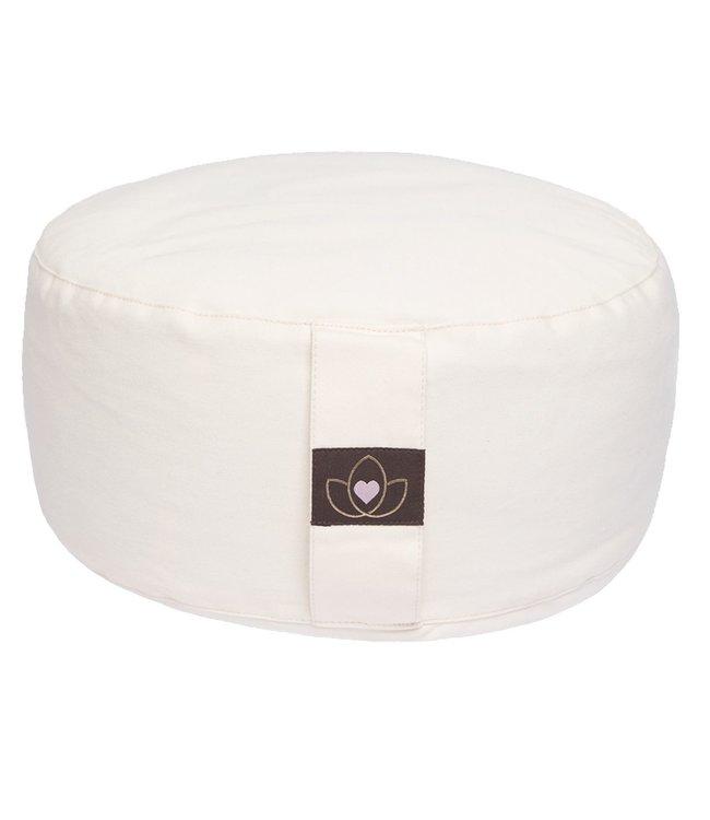 Luxe pakket yogamat, meditatiekussen, blok, oogkussen en tas - moon taupe