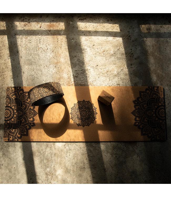 Yoga Design Lab Yogamat commuter kurk - Yoga Design Lab