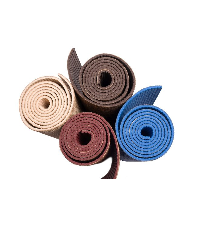 Lotus Yogamat jute burgundy – Lotus