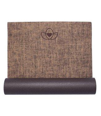 Lotus Yogamat jute cocoa – Lotus
