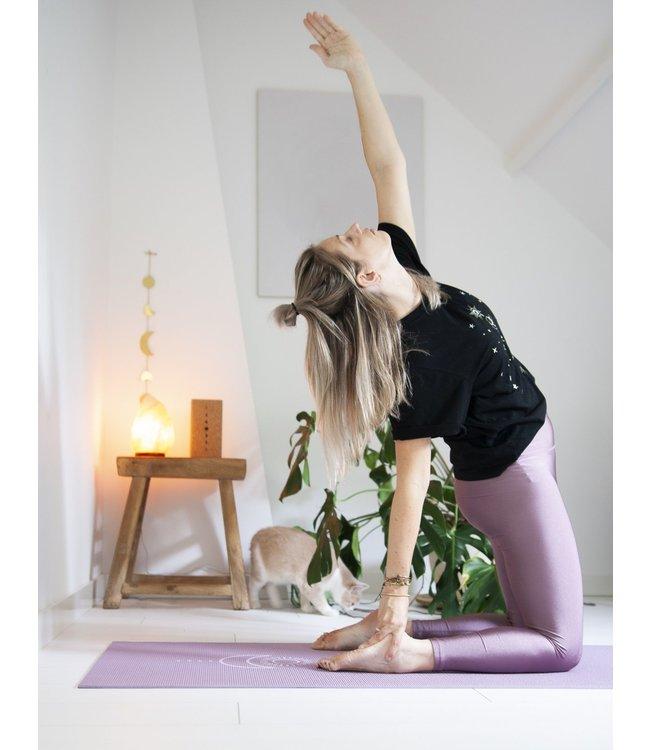 Lotus Yogamat sticky extra dik balance lavendelpaars  - Lotus