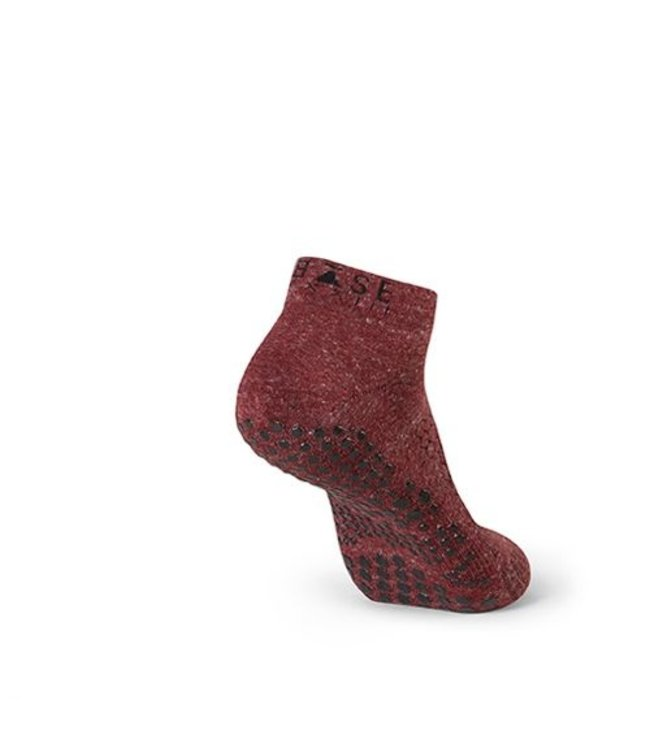 Toesox Yoga sokken mannen - burgundy