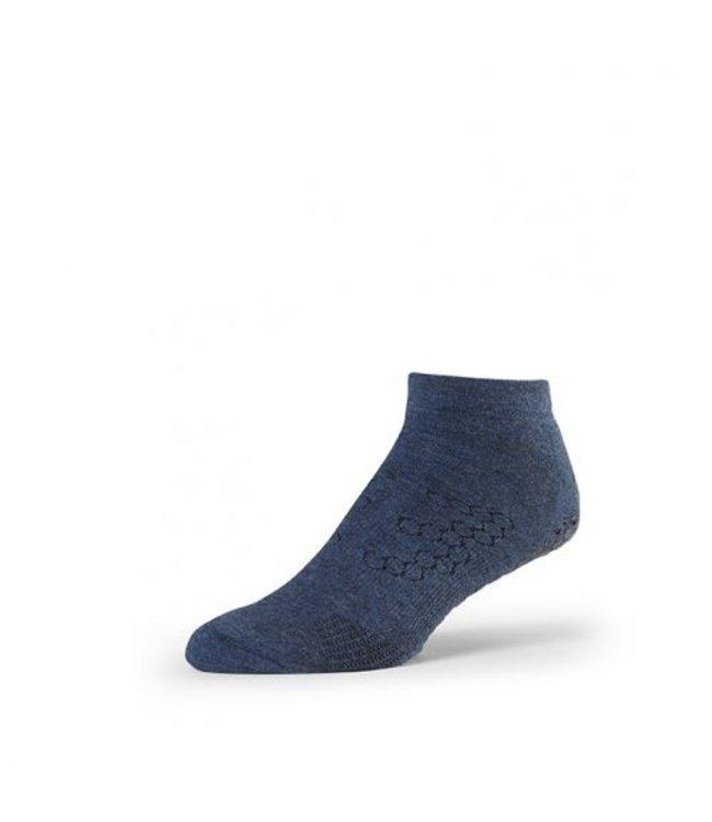 Toesox Yoga sokken mannen - navy