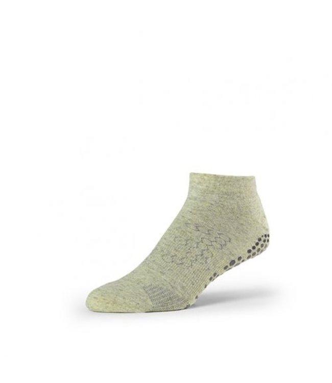 Toesox Yoga sokken mannen - kelp