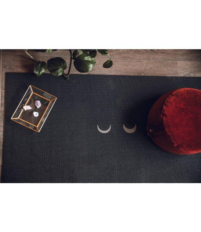 Lotus Meditatiekussen velvet eco burgundy rond – Lotus
