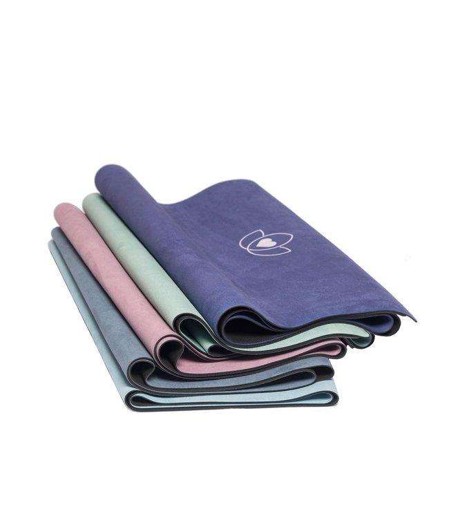 Lotus Yogamat travel opvouwbaar lavendelroze – Lotus